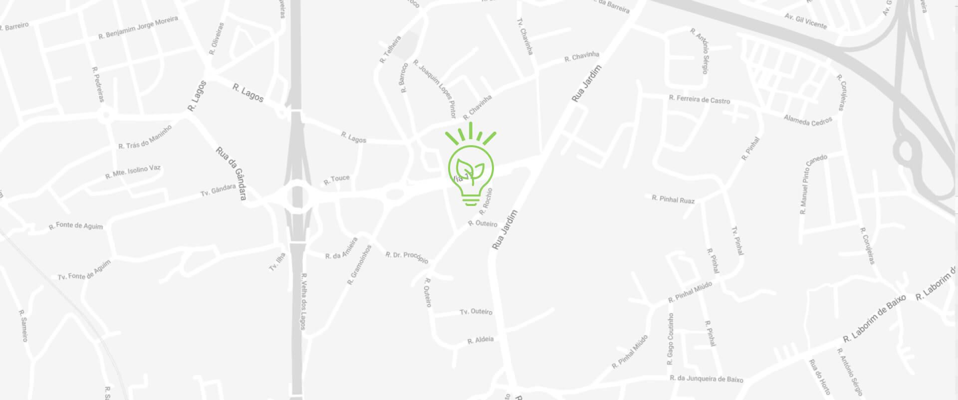 Ecoinside - Mapa